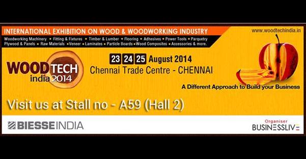 WOODTECH INDIA 2014